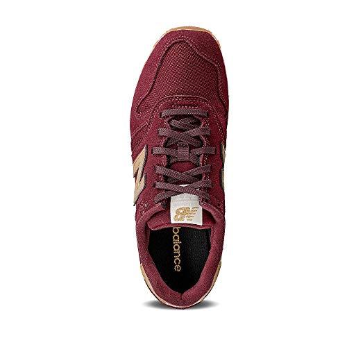 New Balance 373 WL373FA2 Medium, Zapatillas Mujer, Red (Classic Burgundy FA2), 37 EU