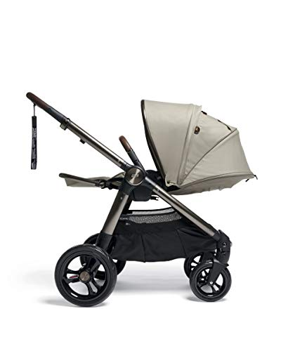 Mamas & Papas Ocarro All Terrain Puschair, Buggy, Pram, One Hand Fold, Puncture-Proof Tyres, Extendable Hood & Adjustable Lie Flat Seat - Iconic, 16.15 kg Mamas & Papas Robust support: dual suspension for all-terrains Ultimate comfort: large, padded seat One-hand fold: quick, easy and compact 3