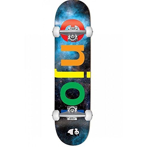 Skateboard Set Completo Per Bambini Enjoi Spectrum - 7.37 Inch Space (Default , Nero)