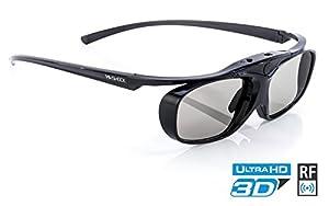 ✅ Diese High-End-3D-Brille bietet eine der hellsten Auflösungen auf dem Markt aufgrund ihrer neu erfundenen reaktionsstarken und extrem leuchtenden LCD's. Genießen Sie realistischen Tiefenmodus und beeindruckende HD-Auflösung mit einer besseren Helli...