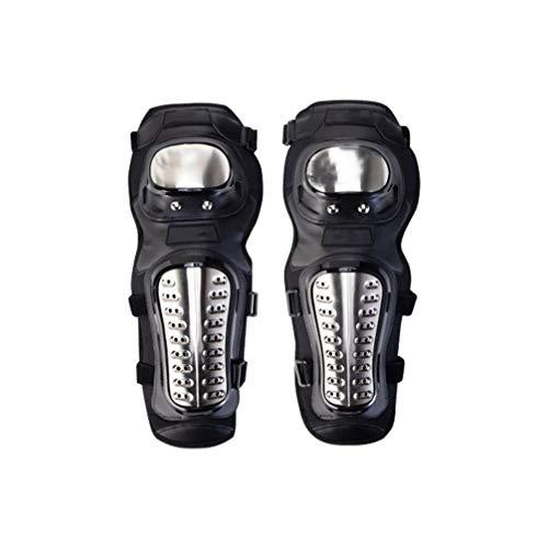 BESPORTBLE 1 Paar Ellbogenschützer Edelstahlschutz-Ellbogenschützer mit Bruchsicheren Handschützern für Motorradrennfahrer