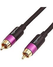 Amazon Basics-Cable para subwoofer (10,7 m)
