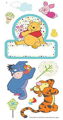 Winnie l'ourson Sticker de porte de Chambre