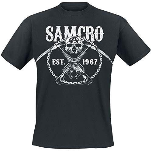 Sons Of Anarchy Chain Gang T-shirt noir XXL