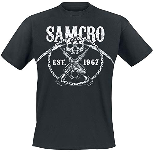 Sons of Anarchy Chain Gang T-Shirt schwarz L