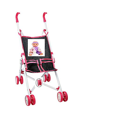 Unibos Have Duty Girls/Boys Doll Toy Buggy Stroller Jogger Buggy Dolls Learning Play Kids New (Dolls are not Included with the Stroller )