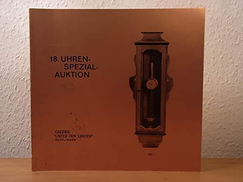18. Uhren-Spezial-Auktion, 25. November 1976, München, in den Ausstellungsräumen der Fa. OTE. Mit Ergebnisliste