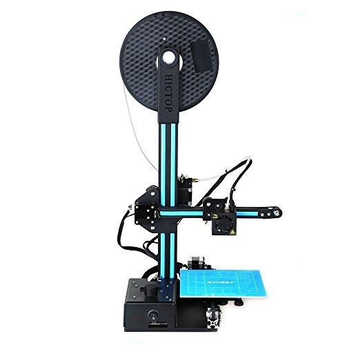 HICTOP Stampante 3D Stampante Prusa I3 Kit di alluminio assemblato a metà