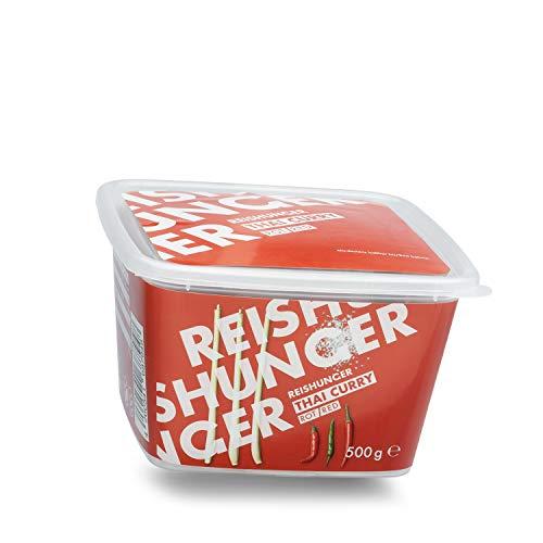 Reishunger Rote Thai Curry Paste (500 g) nach Original Thailändischer Rezeptur - Vegan, Glutenfrei & Ohne Zusatzstoffe - In vielen Sorten & Größen verfügbar