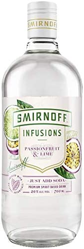 Smirnoff Infusions Passionfruit & Lime 700mL