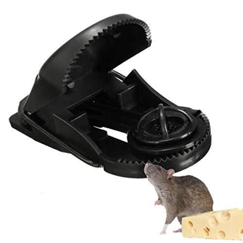 Yongse 10pcs ABS plastica riutilizzabile mouse trappole per roditori Catcher Garden Pest Control Tool
