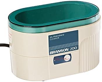 BRANSON ULTRASONICS 100-951-011 Bransonic Model B200 Ultrasonic Cleaner 15 oz Tank Capacity 40 kHz Frequency 220V 50/60 Hz 8-3/4  L x 4-1/2  W x 5  D