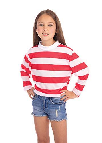 Bristol Novelty- Costumes, Unisexe Enfant, CC964, Rouge, 4-6 Ans