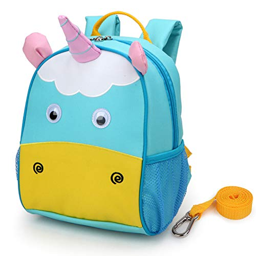 yodo Upgraded Kids Insulated Toddler Backpack with Safety Harness Leash and Name Label - Playful ...