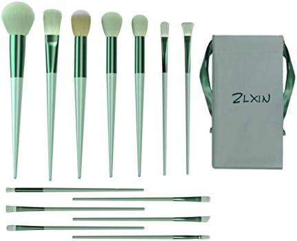 ZLXIN Makeup Brushes Set 13 Pcs Premium Synthetic Kabuki Foundation Face Powder Blush Concealers product image