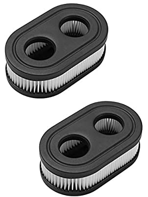 UP2WIN Air Filter for Lawn Mower - Air Filter Cleaner Compatible with Toro Troy Built Sears Craftsman Briggs and Stratton Lawnmower, Replacement for The Part # 593260 798452, 2 Pack