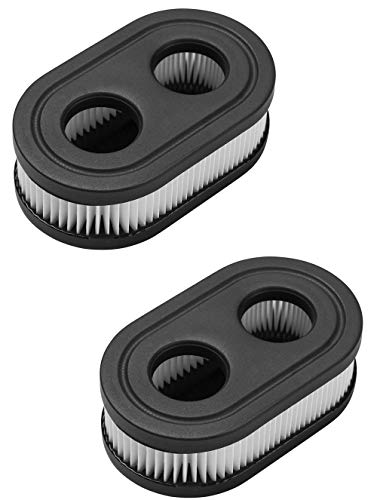 Air Filter for Lawn Mower - Air Filter Cleaner Compatible with Toro Troy Built Sears Craftsman Briggs and Stratton Lawnmower, Replacement for the Part # 593260 798452, 2 Pack