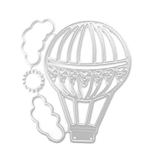 NaisiCore Prägen Stanze Scrapbooking Papierkarte Mold Carbon Steel DIY Prägeform Luftballon stirbt Album Craft