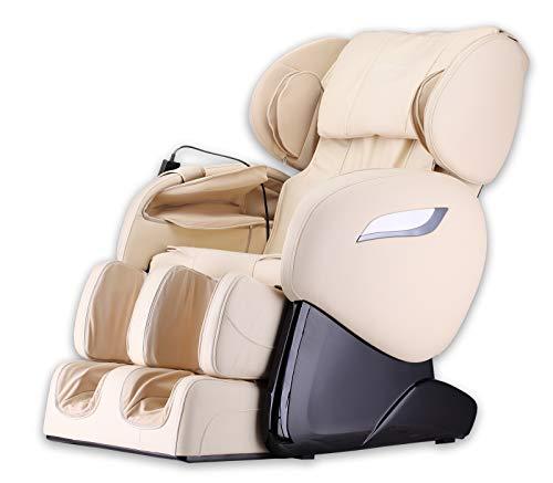 Home Deluxe - Massagesessel - Sueno beige V2 - inkl. komplettem Zubehör