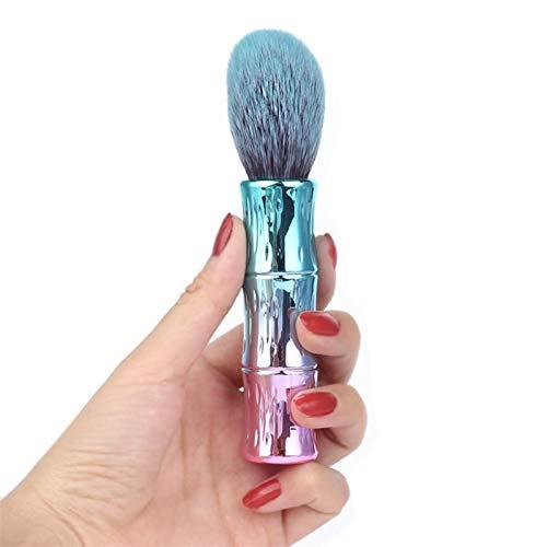 1 unids maquillaje pinceles kit de cosméticos polvo suelto maquillaje de herramienta rubor profesional resaltador profesional mezcla de alta calidad natural (Handle Color : A)