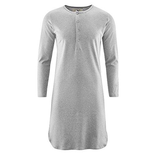Living Crafts Retro-Nachthemd S, Grey Melange