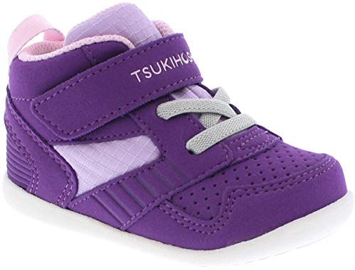 TSUKIHOSHI Kids Racer MID Purple/Pink - 2511-512-B/3 M US Toddler