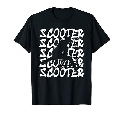 Truco scooter retroceso scooter salto retroceso Camiseta