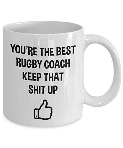 Rugby Gifts Rugby Mug Rugby Birthday Gifts Rugby Christmas Gift Rugby Coach Gift