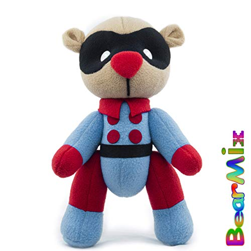 Bucky bear - marvel superhero movie comic plush toy avengers bucky barnes -  BearMix