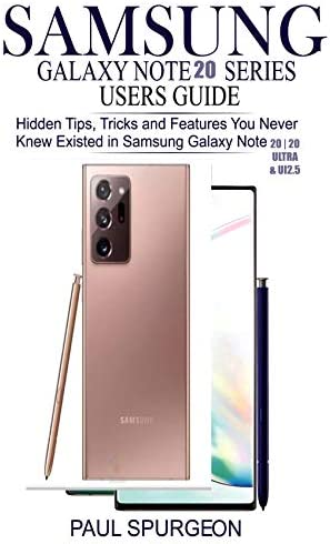 Samsung Galaxy Note 20 SERIES USERS GUIDE Hidden Tips Tricks and Features You Never Knew Existed product image