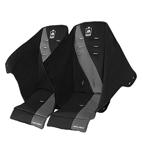 Twin Triumph Seat - Black/Charcoal