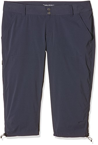 Columbia Women's Saturday Trail II Knee Pant, Water & Stain Resistant,India Ink,22W X 18' inseam