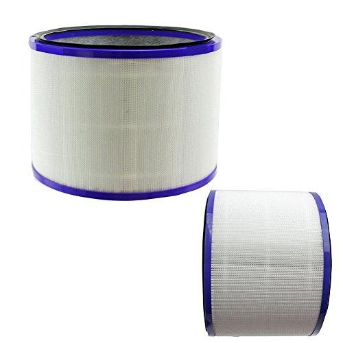 BLUELIRR 2 Pack de filtres pour Dyson 967449-04 Pure Cool Link Bureau Hot + Cold Air Cleaner Ventilateur DP01
