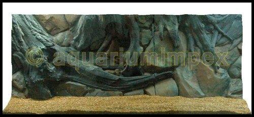 3D Rückwand 150x60 Aquariumrückwand Amazonas