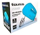 Batidora Manual Taurus Oasis De 5 Velocidades Color Aqua 100 W
