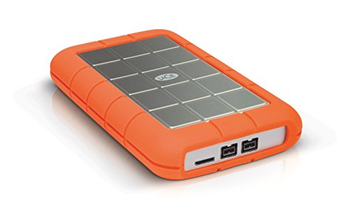 "LaCie Rugged Triple Disque dur externe portable 2,5"" USB3.0 / USB2.0, FireWire 800 2 To"