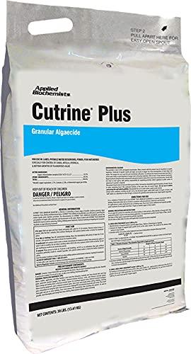 Cutrine Plus Granulated Algaecide, 30 lbs