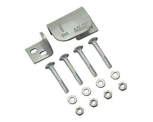 ABLOY(アブロイ) ロッキング・プレート CEN Grede3 70mm 右開きドア用 南京錠のつるとビス穴を隠します PL200