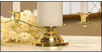 Religious Supply Unity - Limited time for free shipping Gols High material Candleholder