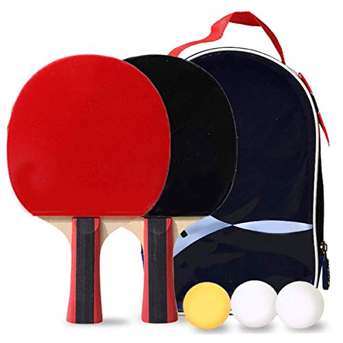 Buy Discount BlueBean Table Tennis Bats and Balls Set Ping Pong Set Children Tennis Sets Adult Profe...