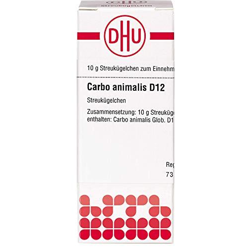 DHU Carbo animalis D12 Streukügelchen, 10 g Globuli