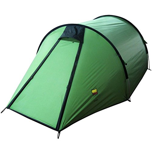 Wild Country Tents Unisex's Hoolie 3 Tent, Green, One Size