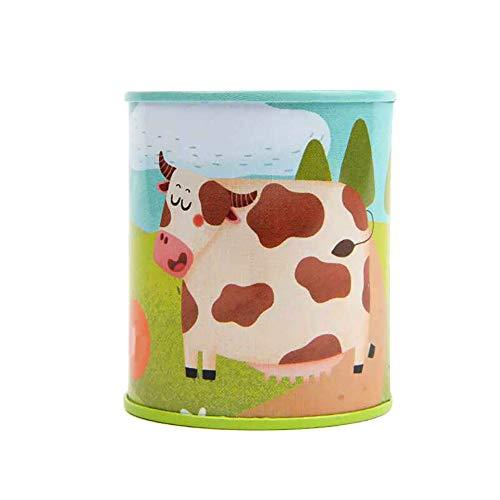 Rrunzfon Sonido Animal clásico de Ruidos impresión de la Vaca Latas Juguete del Sonido del Partido Completo Set Bundle simulación Juguete de Sonido