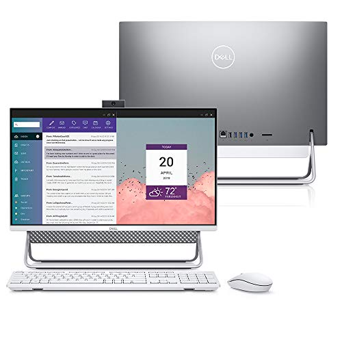 Computador All in One Dell Inspiron 5490-MS30S 10ª Ger. Intel Core i7 8GB 256GB SSD Placa Vídeo NVIDIA 23.8' Windows 10
