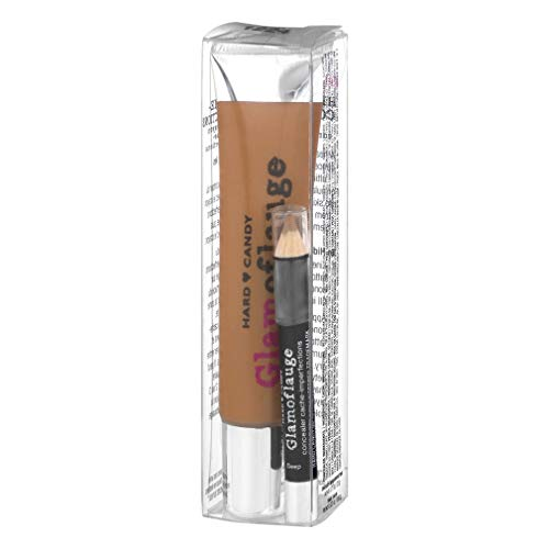 Hard Candy Glamoflauge Heavy Duty Concealer with Concealer Pencil ~ Fawn