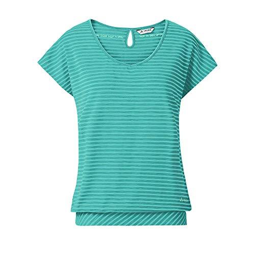 Vaude Damen T-shirt Women's Skomer T-Shirt II, Peacock, 38, 40385