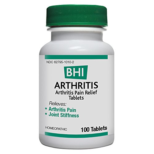 BHI Arthritis Pain Relief Natural, Safe Homeopathic Relief - 100 Tablets