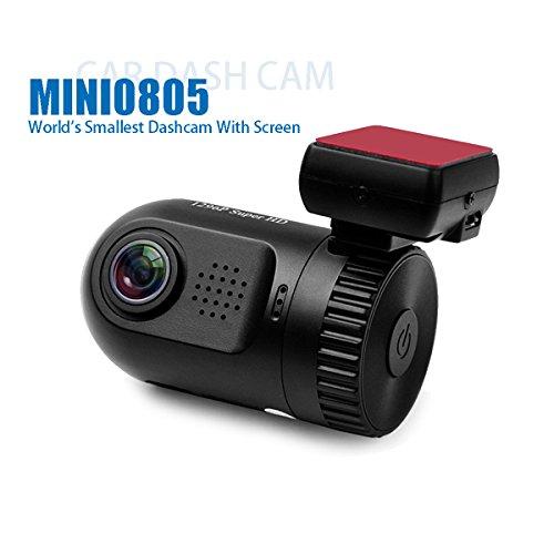 Dashboard Camera, SplashETech Mini 0805 Dash CamWorld's Smallest Dashcam W/Screen Amba A7LA50 Chip Full HD 1296P(Upgraded Mini 0803) Car Video Recorder,Dvr Car Camera with GPS Logger
