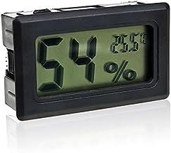 Gosear Mini Digital LCD Termómetro Higrómetro Incar Inalámbrico/Humedad Medidor de Temperatura Interior