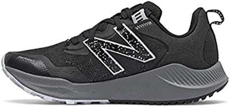 New Balance Women's DynaSoft Nitrel V4 Trail Running Shoe, Black/Moon Dust, 8.5 Wide